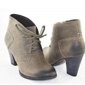 Clark Alpine Melt Womens Boots Dark Gray Style